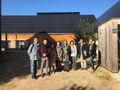Koreanische Delegation zu Besuch im HOF8
