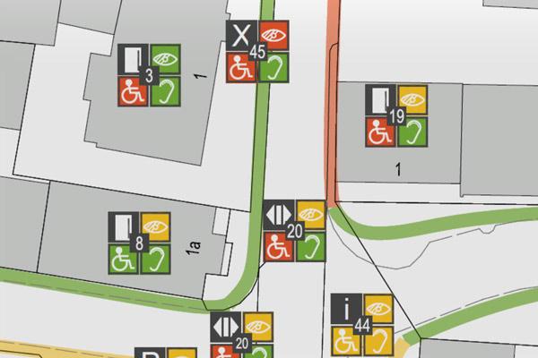 Zuschüsse für Stadtboden-/ Barrierefreiheitskonzepte